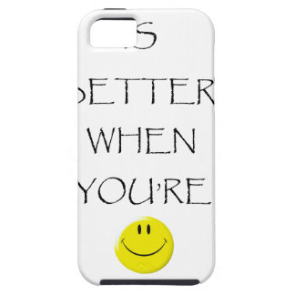 life is better when you're laughing iPhone SE/5/5s case