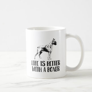 Life Is Better With A Boxer Coffee Mug