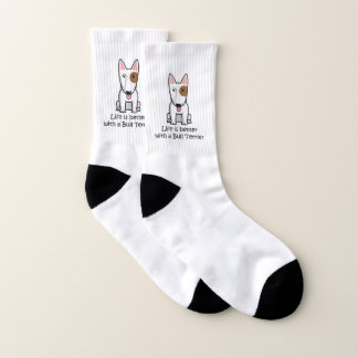 Life is better with a Bull Terrier Socks