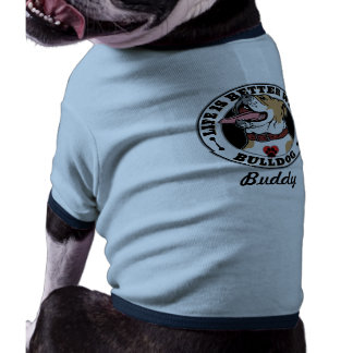 Life Is Better With A Bulldog Personalized Dog Tee