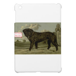 Life is better with a dog iPad mini cover