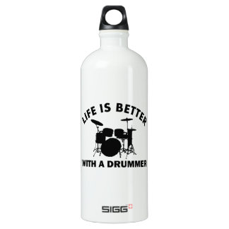 Life is better with a drummer SIGG traveler 1.0L water bottle