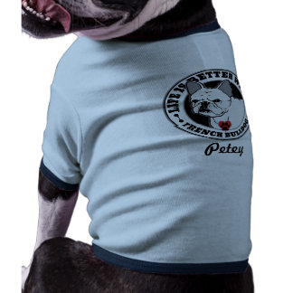 Life Is Better With A French Bulldog Personalized Shirt