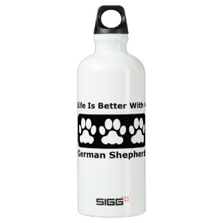 Life Is Better With A German Shepherd SIGG Traveler 0.6L Water Bottle