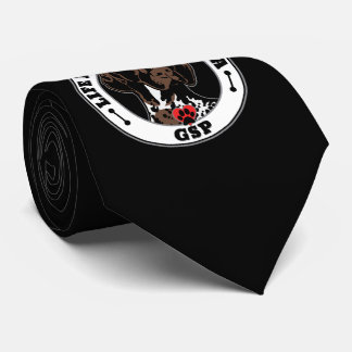 Life Is Better With A GSP Dog Breed Tie