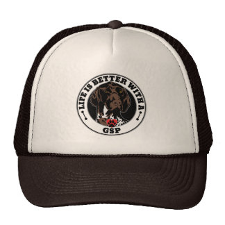 Life Is Better With A GSP Dog Breed Trucker Hat