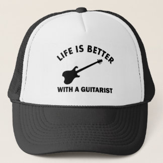 Life is better with a GUITARIST Trucker Hat