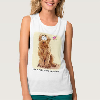 Life is better with a Labradoodle Tank Top