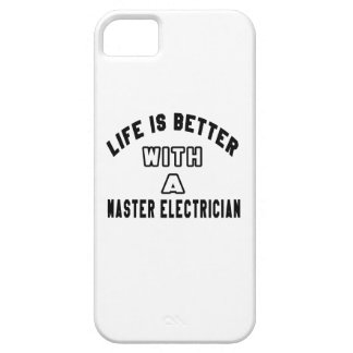 Life Is Better With A Master Electrician iPhone 5 Cover