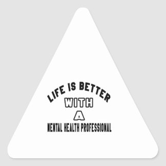 Life Is Better With A Mental health professional Stickers