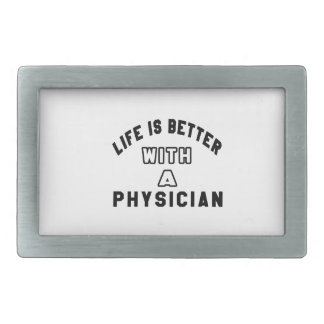 Life Is Better With A Physician Belt Buckles