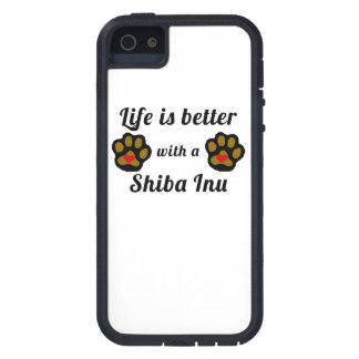 Life Is Better With A Shiba Inu iPhone 5 Case