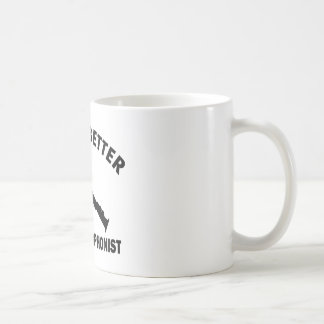 Life is better with a sopranist coffee mug