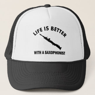 Life is better with a sopranist trucker hat