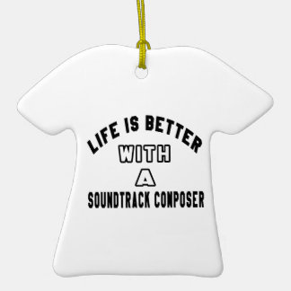 Life Is Better With A Soundtrack composer Christmas Ornaments