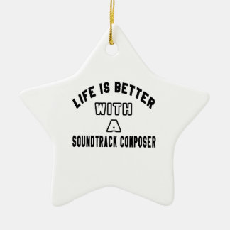 Life Is Better With A Soundtrack composer Ornaments