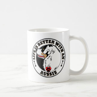 Life Is Better With An Aussie Dog Breed Coffee Mug