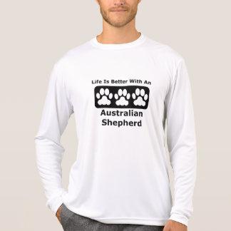 Life Is Better With An Australian Shepherd Tee Shirts