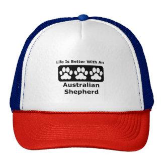 Life Is Better With An Australian Shepherd Trucker Hat