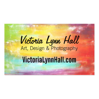 Life Is Better With Art Custom Business Card