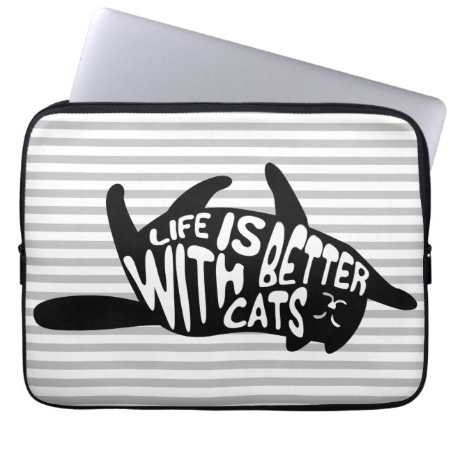Life is better with cats | Fun Typography