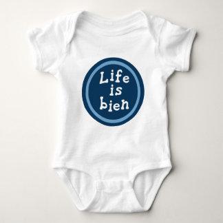 Life is bien baby bodysuit