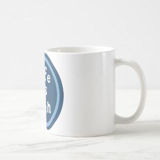 Life is bien coffee mug