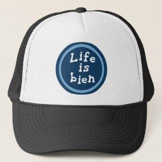 Life is bien trucker hat