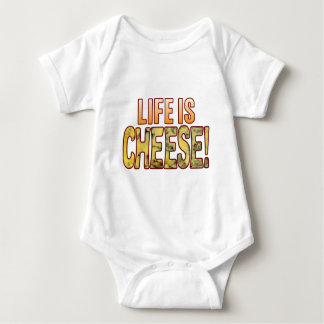 Life Is Blue Cheese Baby Bodysuit