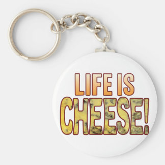 Life Is Blue Cheese Keychain