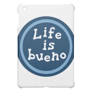 Life is bueno iPad mini cover