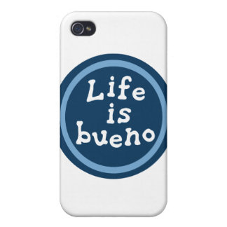 Life is bueno iPhone 4 cover