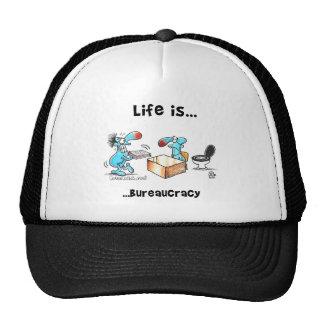 Life is bureaucracy trucker hat