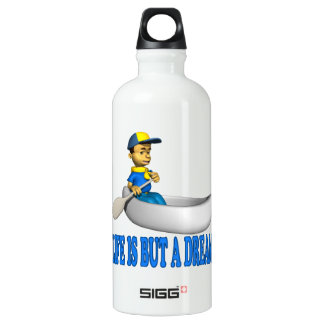 Life Is But A Dream Aluminum Water Bottle
