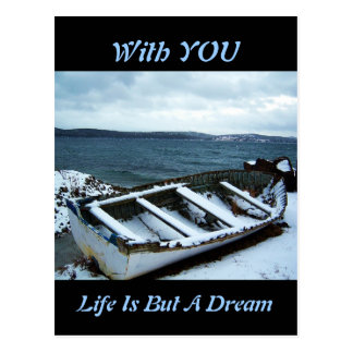 Life Is But A Dream Postcard