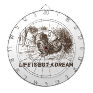 Life Is But A Dream (Red King Snoring Wonderland) Dart Board