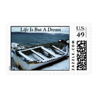 Life Is But A Dream Stamp