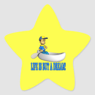 Life Is But A Dream Star Sticker