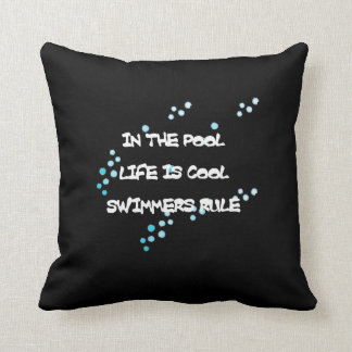 Life is Cool Throw Pillows