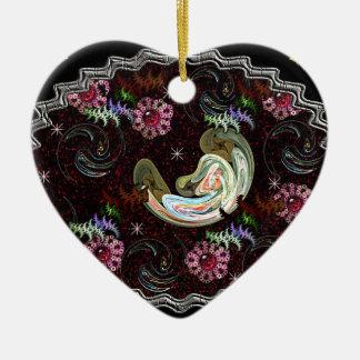 Life is Created Ceramic Ornament
