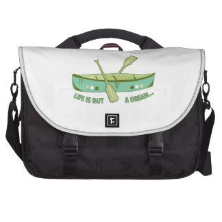 Life Is Dream Laptop Commuter Bag