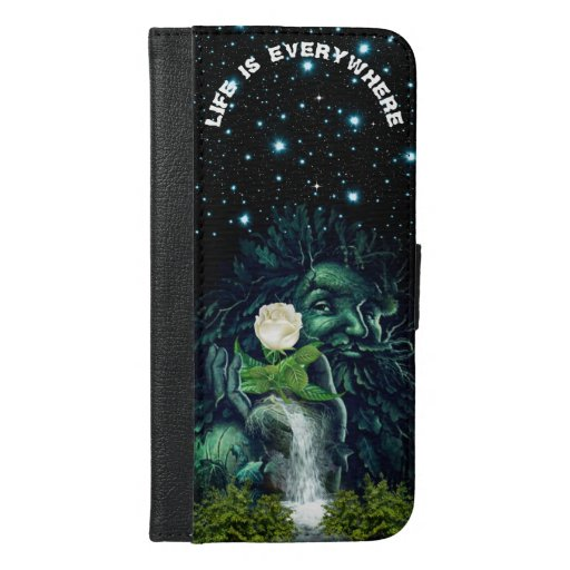 Life is everywhere Phone Wallet