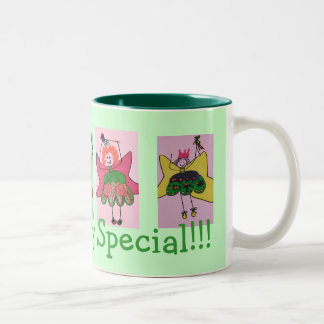 Life is Fairy Special Two-Tone Coffee Mug