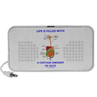 Life Is Filled With A Certain Amount Of Guts Speaker