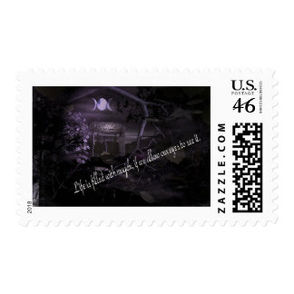 Life is Filled with Magick Postage