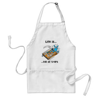 Life is full of Traps Adult Apron