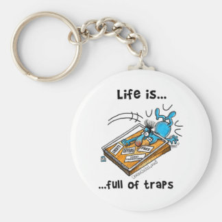 Life is full of Traps Keychain