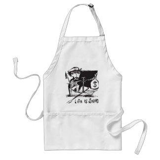 Life is Gnarley Adult Apron