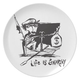 Life is Gnarley Dinner Plate