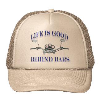 Life Is Good Behind Bars Hat